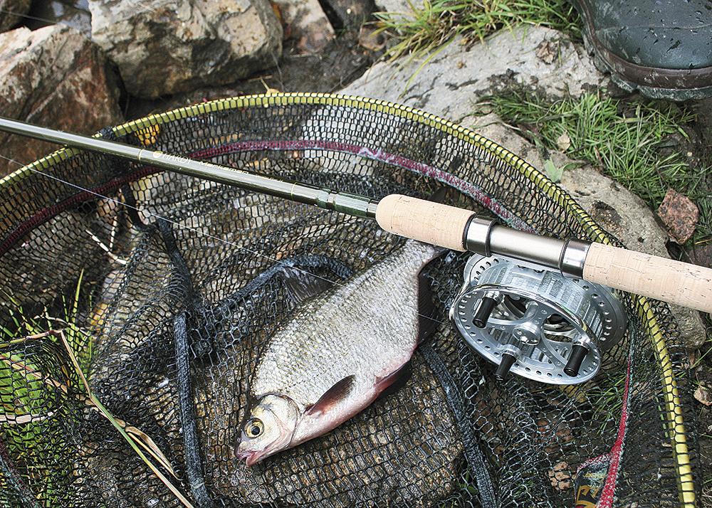 Rybaření s  Centrepinem
