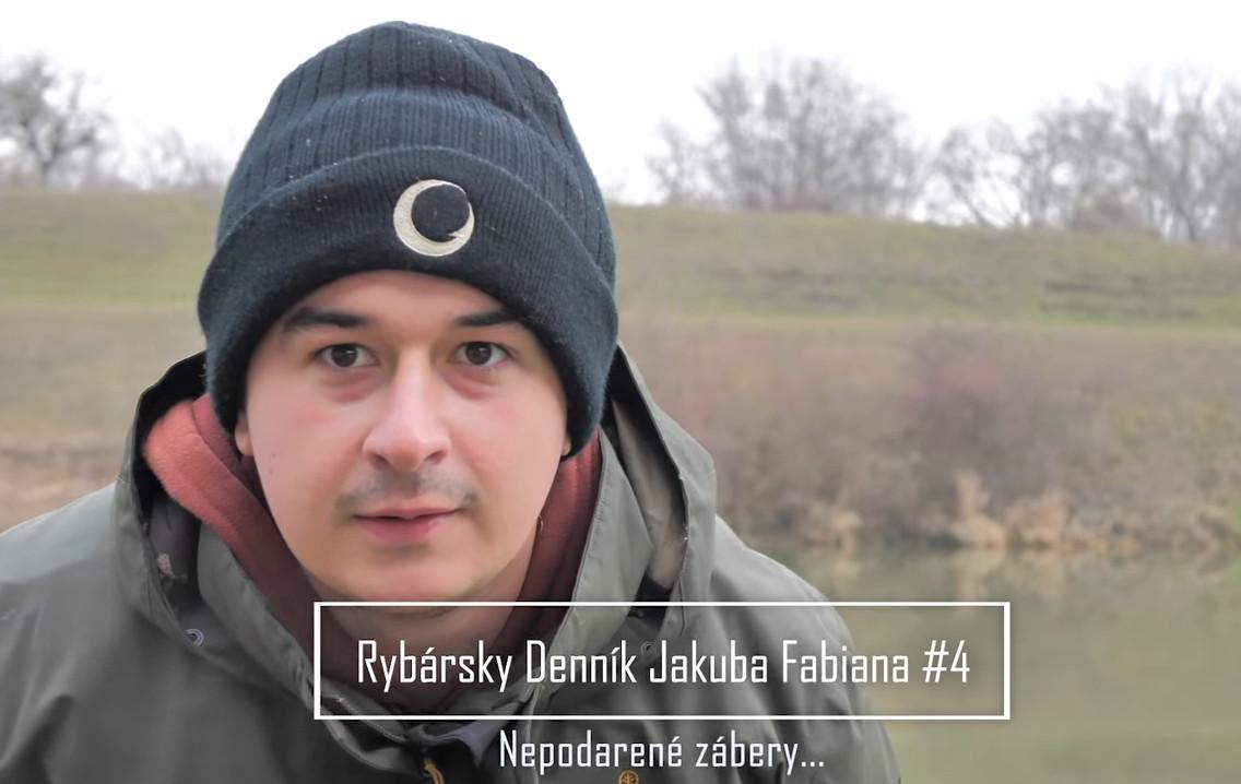 Rybársky Denník Jakuba Fabiana  4 – Nepodarené zábery
