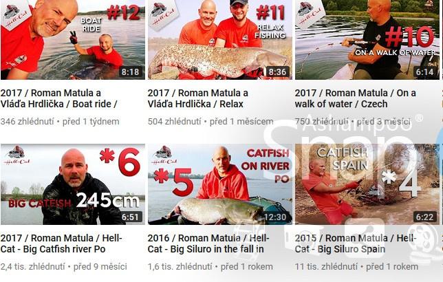 Na sumcařských výpravách s Hell Cat fishing