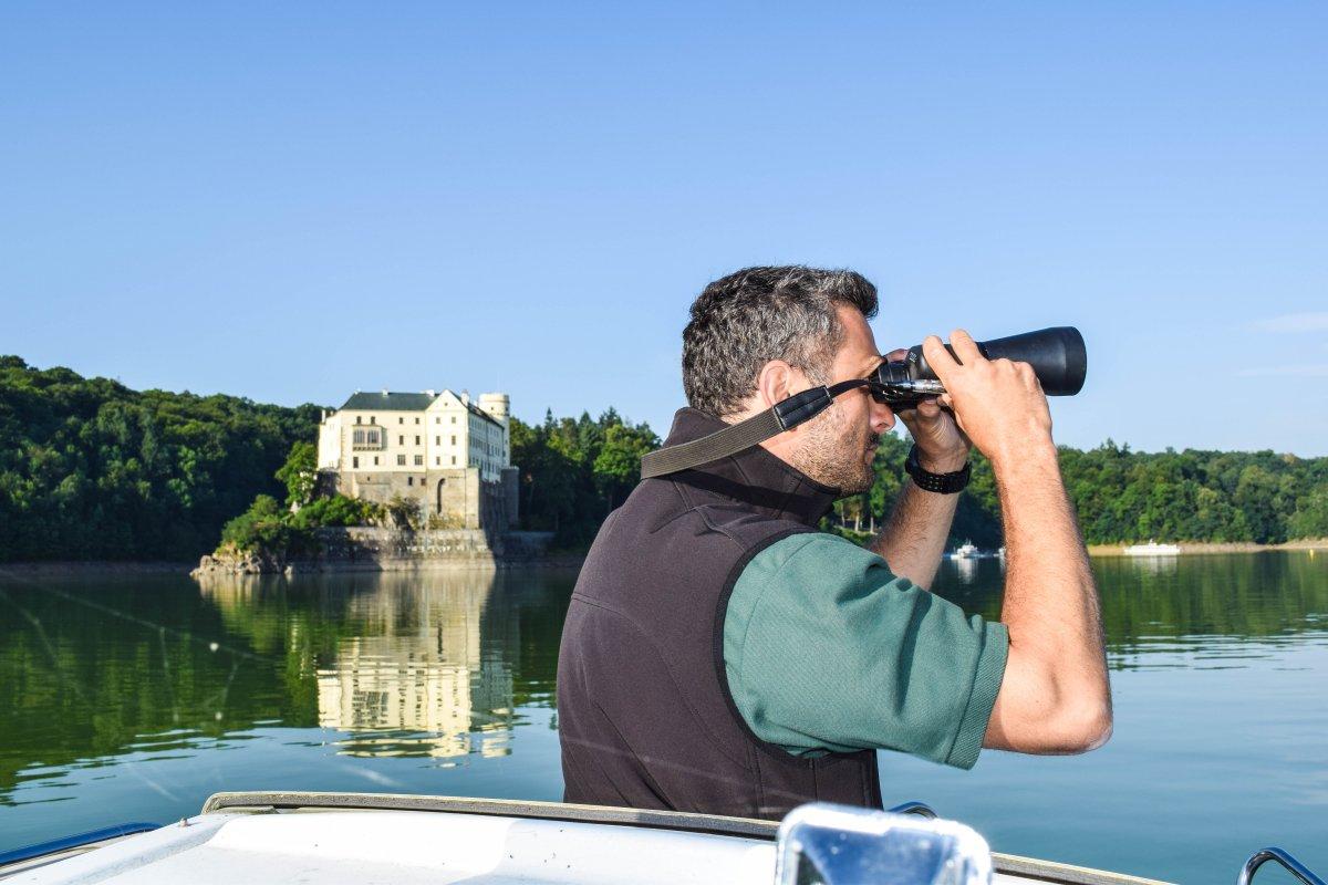Rybářská stráž na Orlíku: profesionální vybavení k dispozici i členům dobrovolné RS