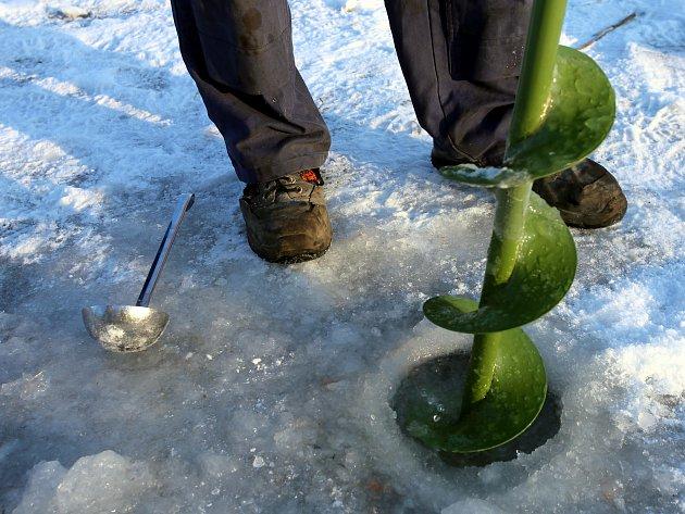 Ryby mají dostatek kyslíku, tuhou zimou zatím netrpí