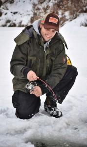 Zimní lov na ledu