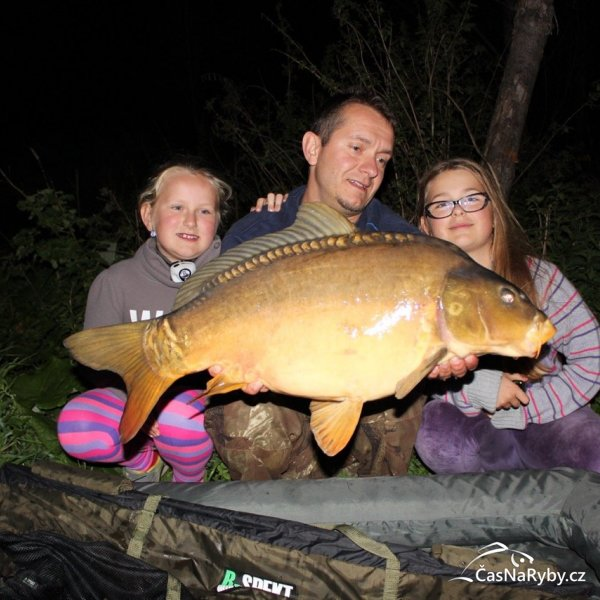 Že pro ryby není čas na děti? Nesmysl. Výpravy jsou nejhezčí právě s dětmi