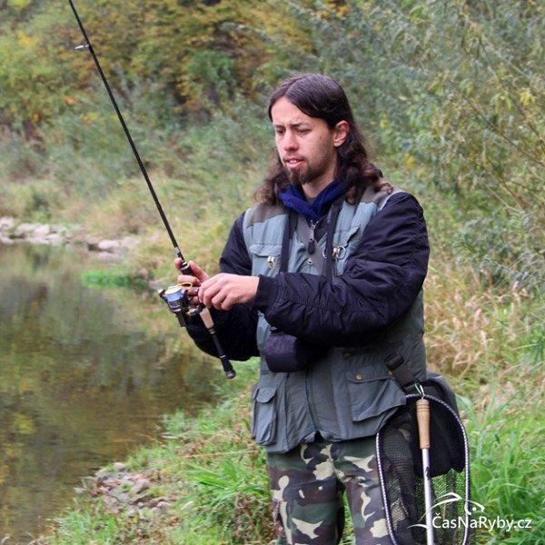 Vláčkař Lukáš Ardon: Vadí mi, že se rybáři chlubí podmírovými dravci