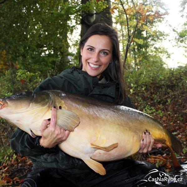 Německá kaprařka Claudia Darga: Občas musím lidi umlčet tím, že jim uzkážu, že umím udělat pěknou rybu