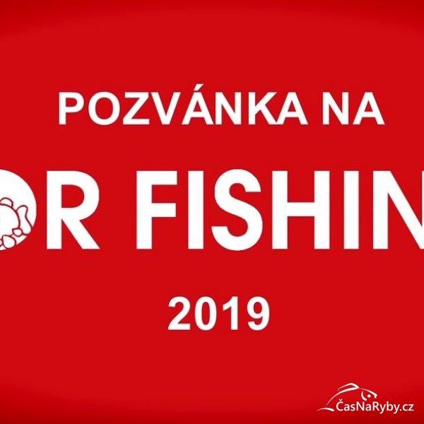 Vyhrajte dvě volné vstupenky na FOR FISHING 2019