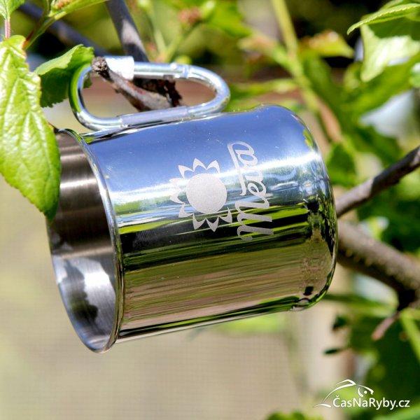 Outdoorový hrnek Meva je výborný tip pro vaši kávu nebo čaj na rybách