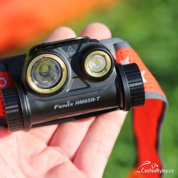 Fenix HM65R-T: Špičková čelovka s dvěma reflektory pro dlouhé i široké světlo dle potřeby