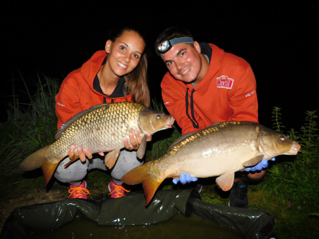S Marcelkou na rybách