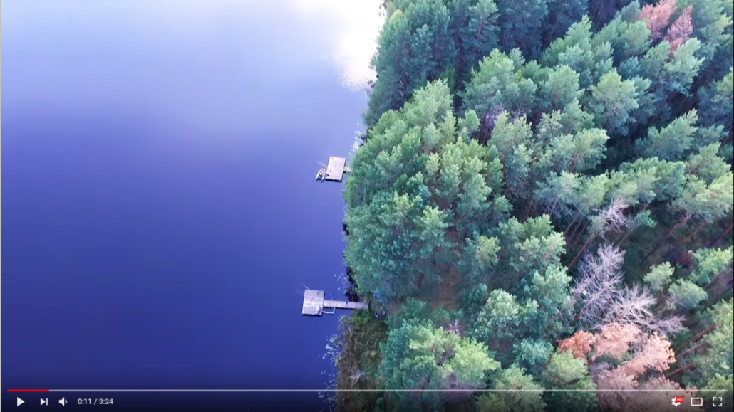 Další povedené video od ukrajinských kolegů. Opět krásná nedotčená příroda a hezké ryby.