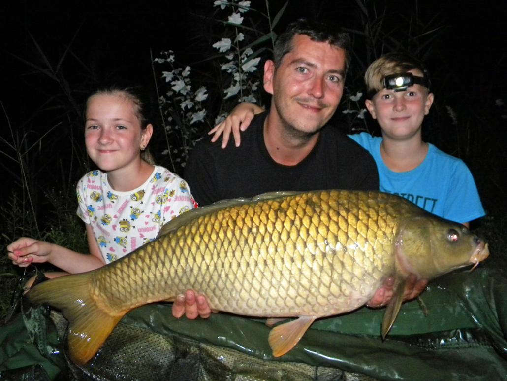 S dětmi na rybačke