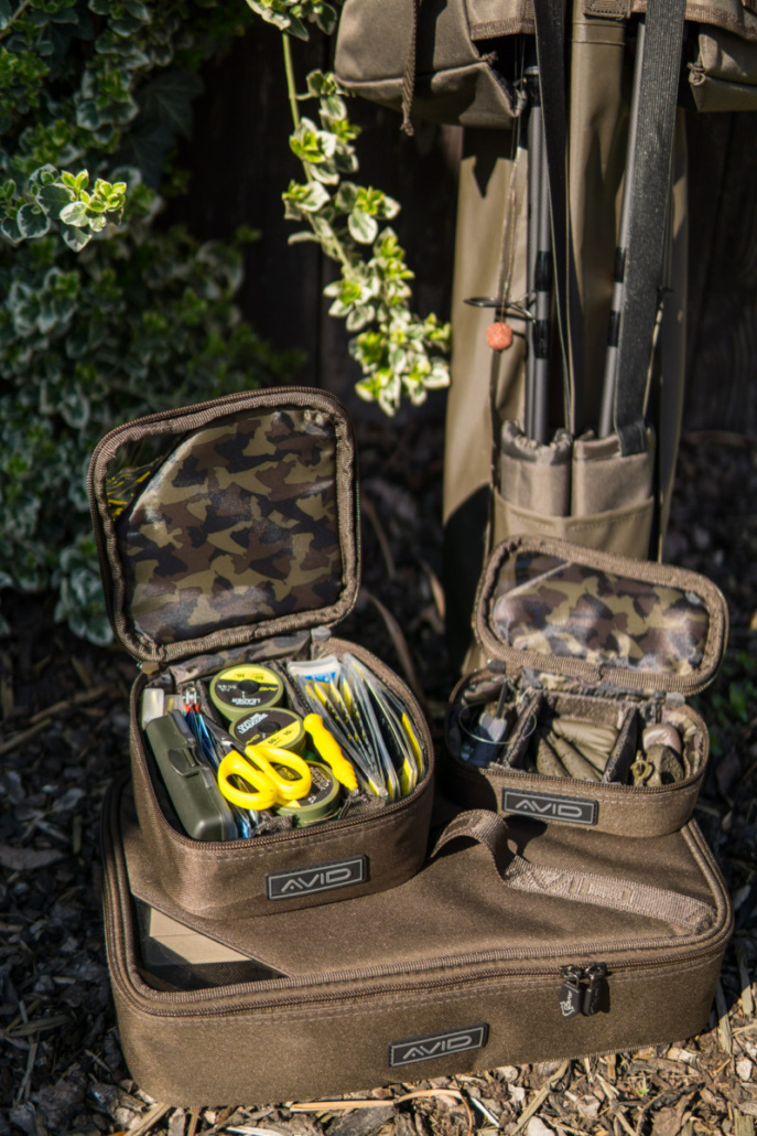 Avid Carp – A-Spec Tackle Pouches