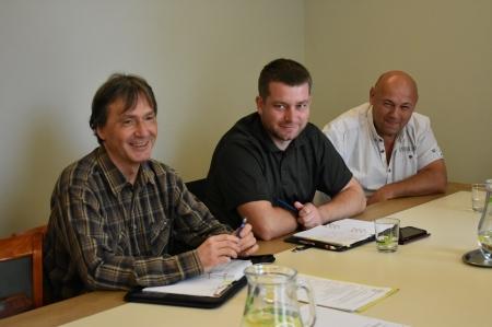 """Setkání s kolegy z Anglerverband """"Elbflorenz"""" Dresden e.v."""