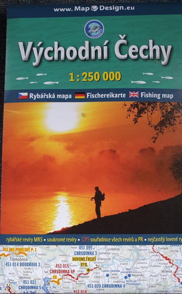 Mapky revírů Východní Čechy