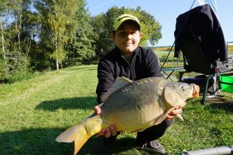 Podzimní dětské rybářské závody 2017 – ČRS MO Kladruby