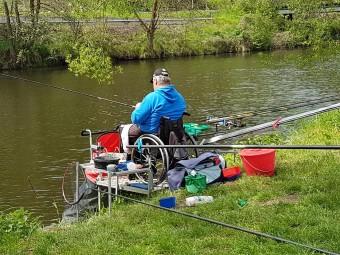 Mistrovství České republiky handicapovaných rybářů v plavané – Mladá Boleslav 18. – 20. 5.2018