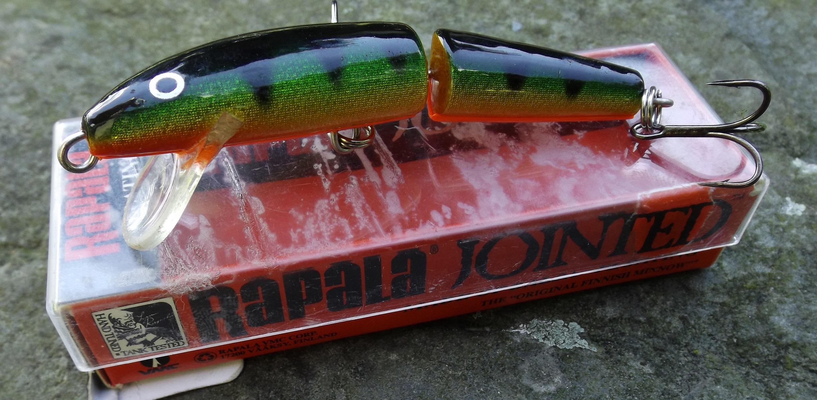 LEGENDÁRNÍ NÁSTRAHY: Rapala Jointed Floating