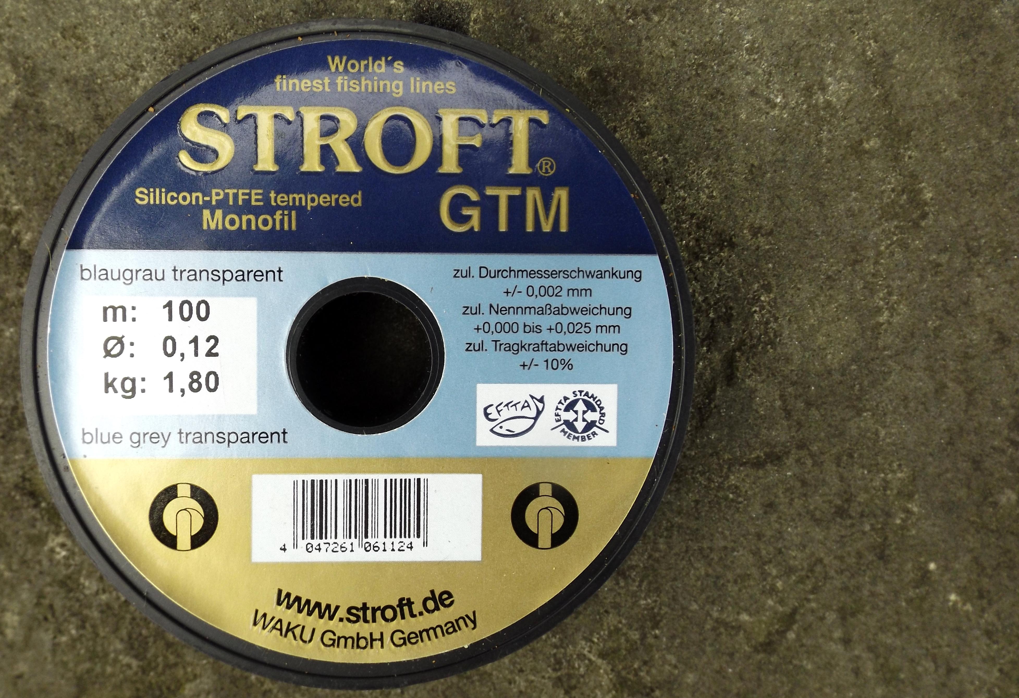 Vlasec na ryby STROFT GTM