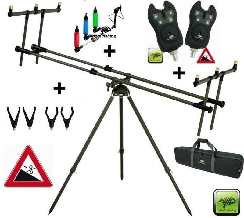 AKČNÍ SET: Nadupaný stojan s perfektními signalizátory a swingery ZDARMA!