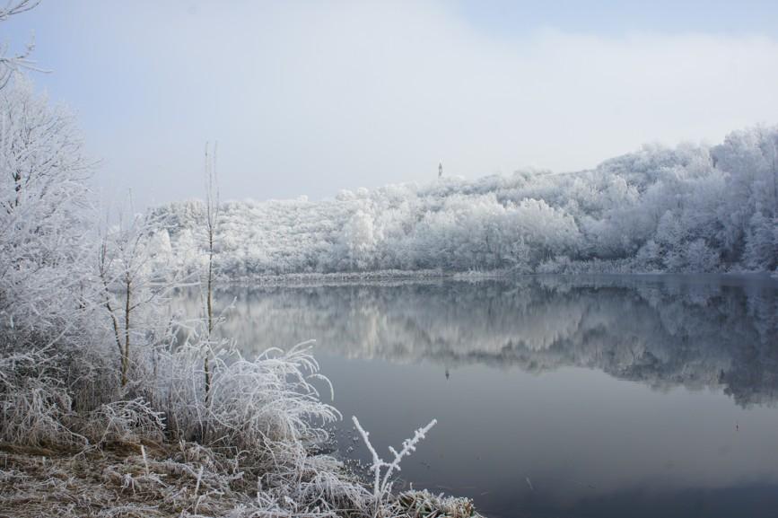 Zveřejňujeme první amatérské fotografie nové vodní plochy