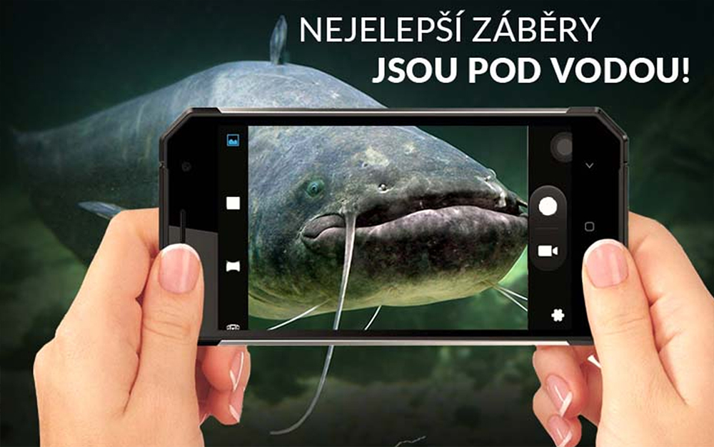 IPATO.CZ – s odolným telefonem na ryby