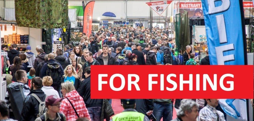 Rybářský veletrh FOR FISHING startuje za několik dní! Lístek na místě bude za 150 korun