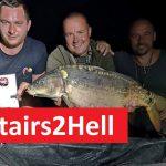 Stairs2Hell: Začíná to jezdit! Karel Nikl byl sesazen z prvního místa! První tým má na břehu 3 bodované kapry!