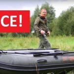 SLEVA: Zlevněný nafukovací člun FOX pro rybáře! Ušetřete více jak 4000 korun!