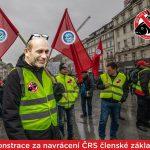 Organizátor demonstrace Dytrych vyzývá předsedu: Přijďte na demonstraci! Předstupte před členskou základnu!