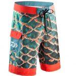 """Luxusní kraťasy pro rybáře s3D potiskem: Oblečte se do """"kůže"""" okouna!"""