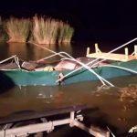 Boj o život na Nových Mlýnech! Rybáře překvapila extrémní bouře! Plechovou loď sešrotovala jako plechovku!