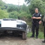 Porybný našel vřece auto! Řidič neodhadl vzdálenost při couvání