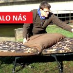 Lehátko se spacákem: Obrovská rybářská postel snosností 160 kilo a spacákem do tuhého mrazu!