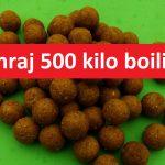 Masakr! Soutěž o 500 kilo boilies! Vyhrajte nástrahy až za 30000 korun!