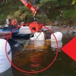 Na Orlíku se potopila šestimetrová loď! Hasiči ji museli vytáhnout z20 metrové hloubky!