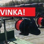 NOVINKA: Nadupaný kaprový naviják skapacitou až 850 metrů! Tenhle stojí pár korun!