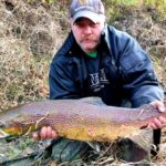 Životní ryba! Rybář na Labi ulovil obrovského lososa! Kolik měřil?