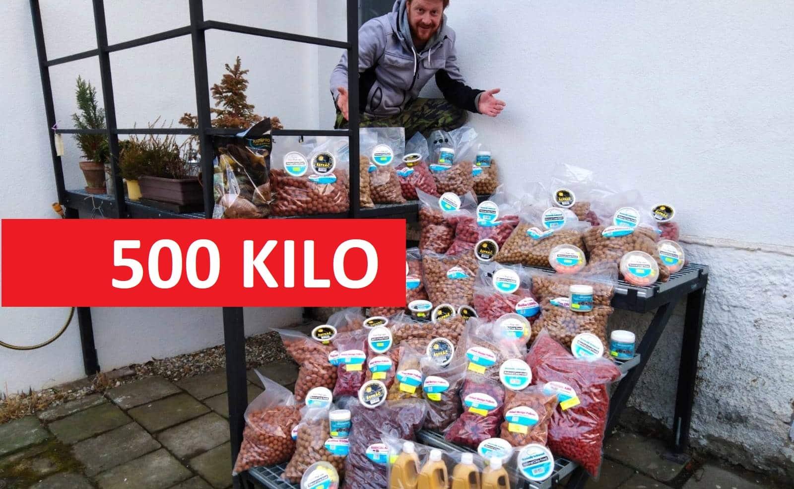Vyhrajte přes 500 kilo boilies za 30000 korun! Soutěž trvá jen do tohoto pátku!
