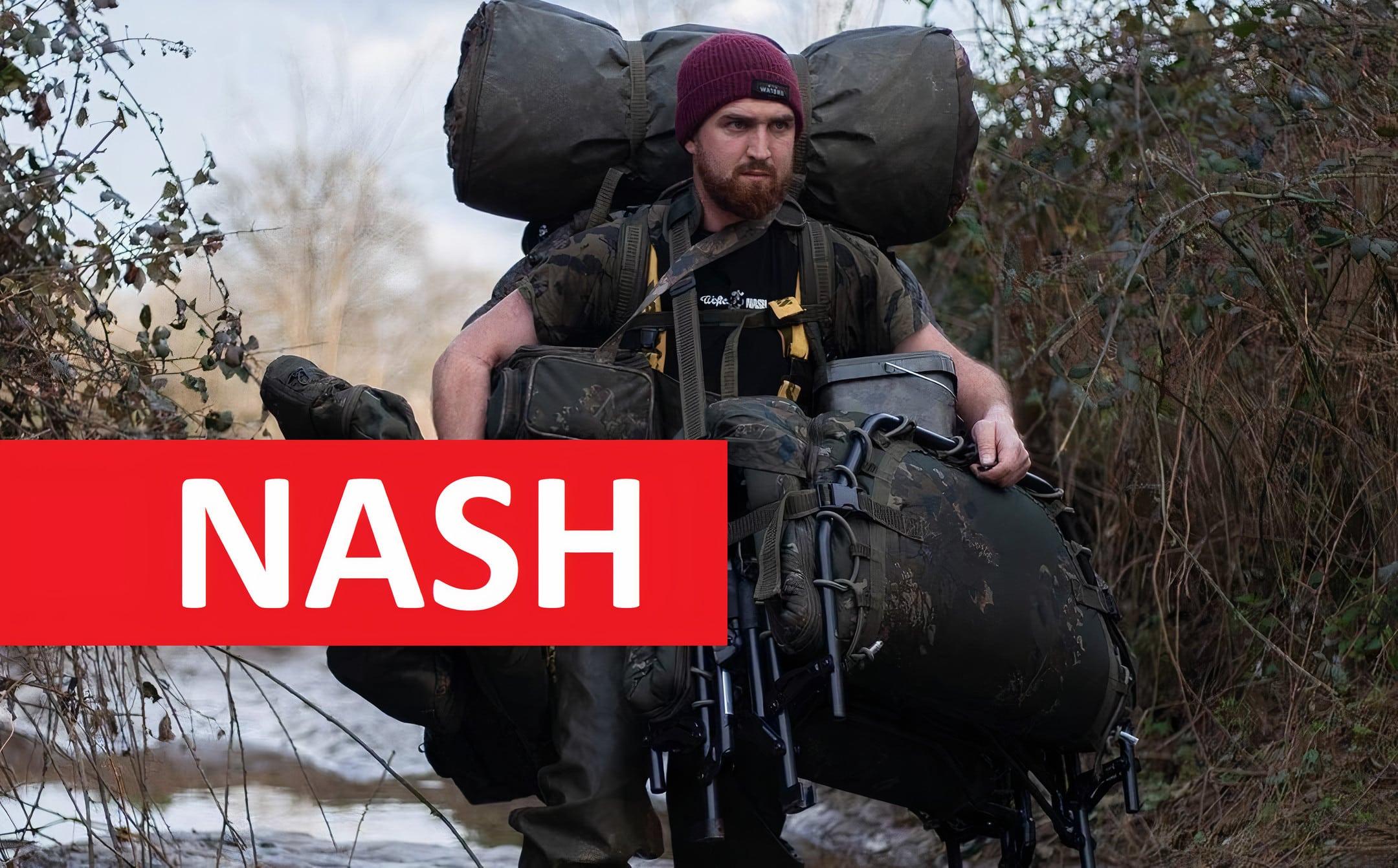 Brutální výprodej NASH: Obrovské slevy na nadupané vybavení od anglické firmy! Poslední kusy!
