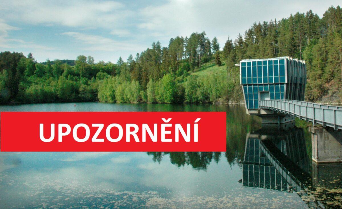 Populární přehrada bez vody? Vodohospodáři budou upouštět 40 dní!