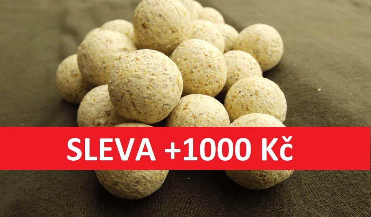 Ušetřete přes 1000 korun! Obrovské slevy na kaprové nástrahy od české firmy KAPRPRO