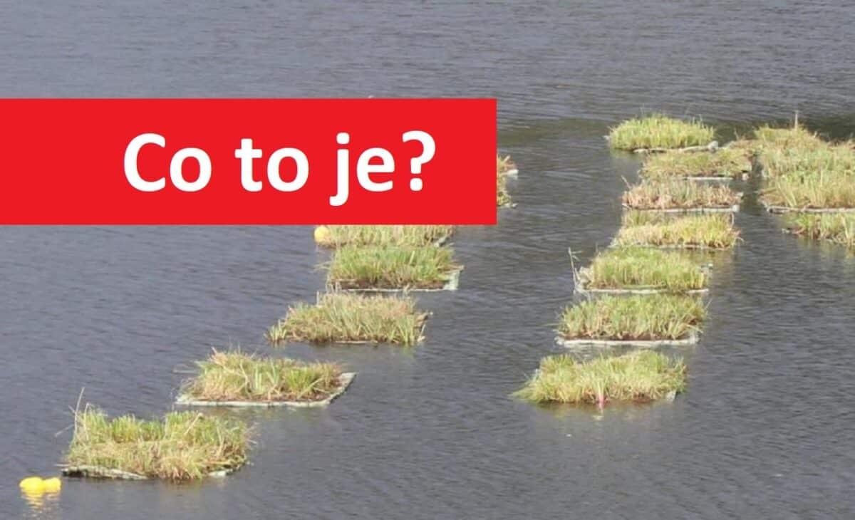 Na přehradě se objevilo 40 plovoucích ostrůvků! Pronájem na vodě vyjde na 14 000 korun ročně