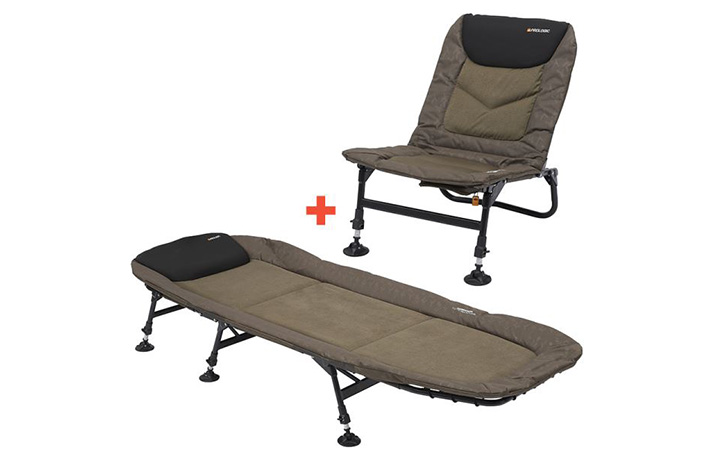 Lehátko a křeslo Prologic Commander T-Lite Chair & Bed Combo
