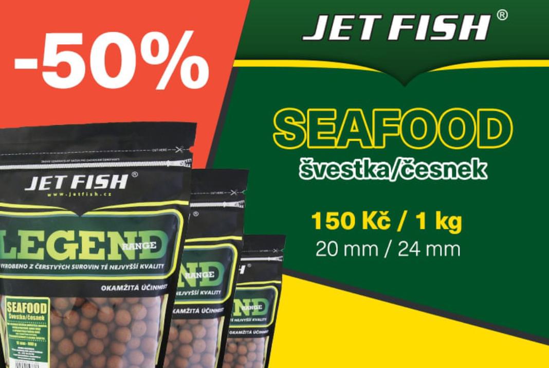 Kupte si prémiové boilies s 50% slevou! Narozeninová akce u Jet Fish je tady!