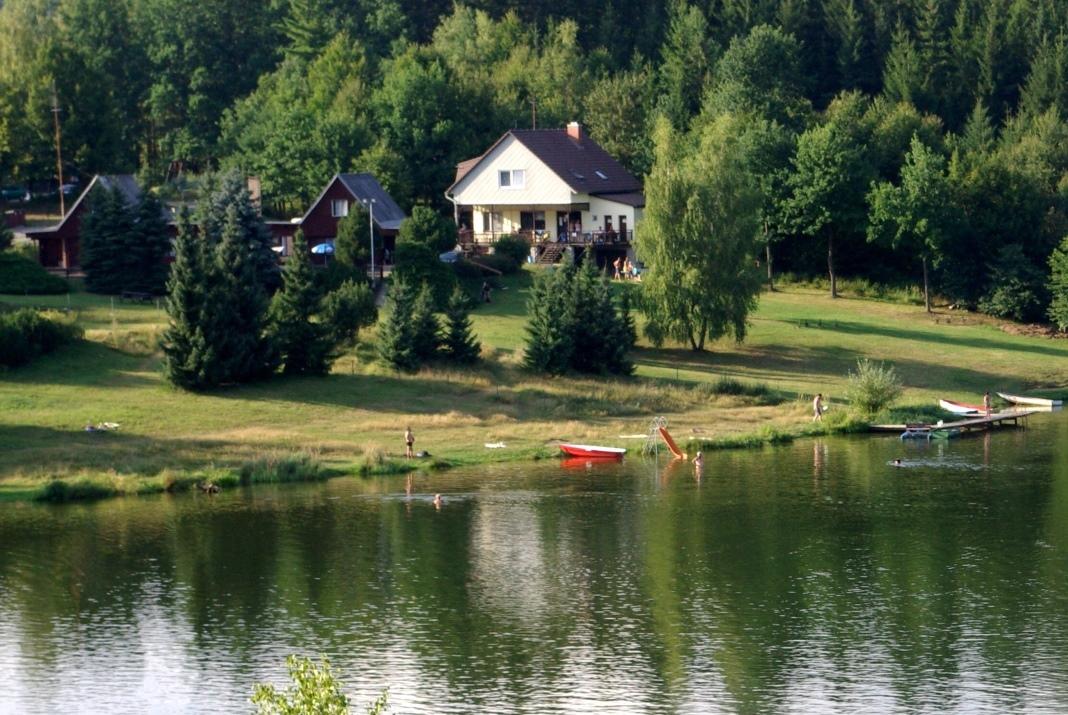 Chata u přehrady TRNÁVKA na Pelhřimovsku