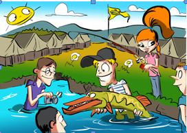 Letní tábor rybářské mládeže –  Smetanova Lhota 2021
