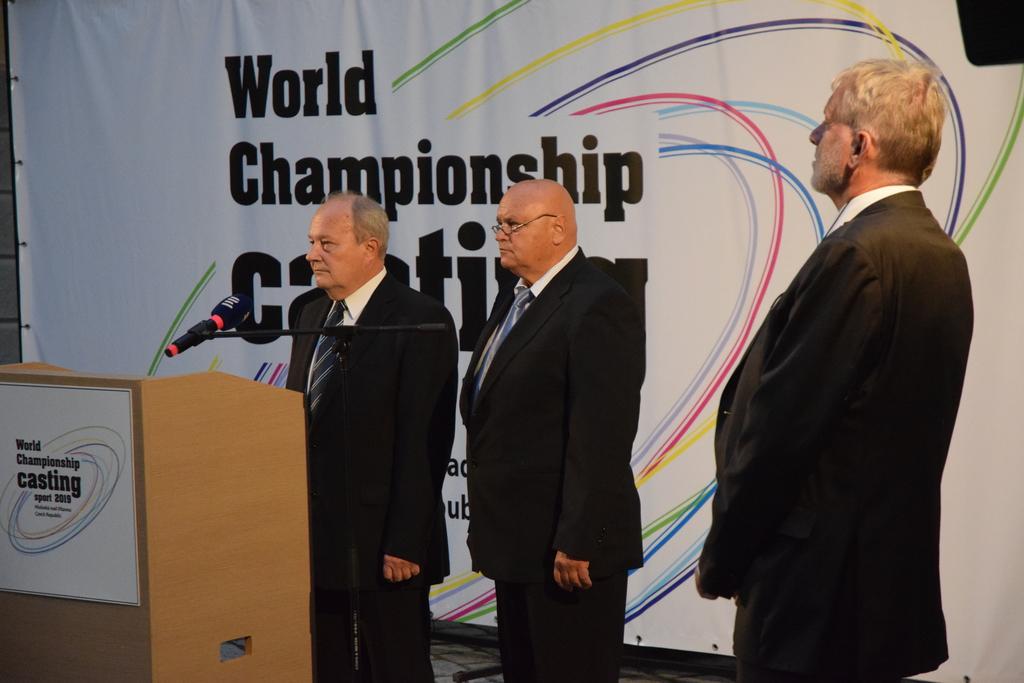 Mistrovství světa v rybolovné technice zahájeno