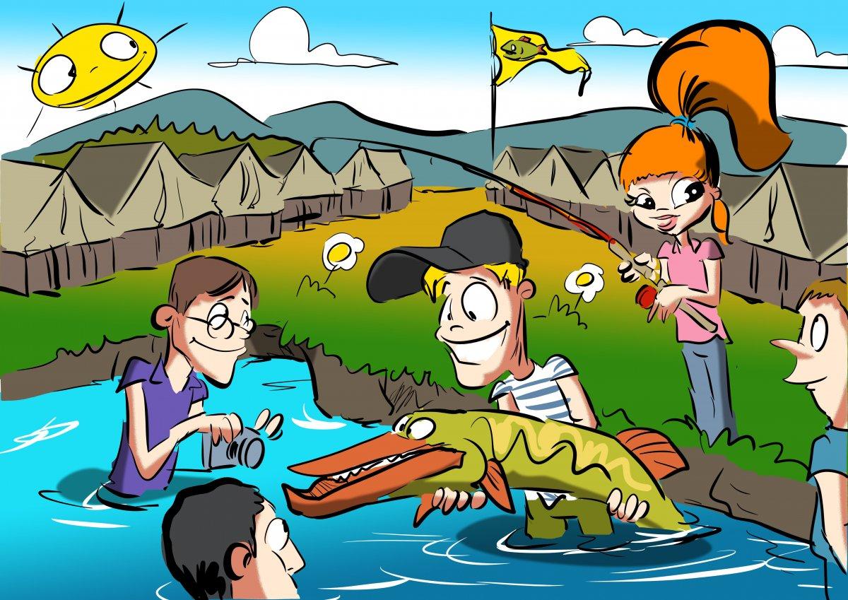 Přihlášky na Letní tábor rybářské mládeže 2019 otevřeny