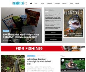 Nový web časopisu Rybářství přináší články, soutěže a videa!