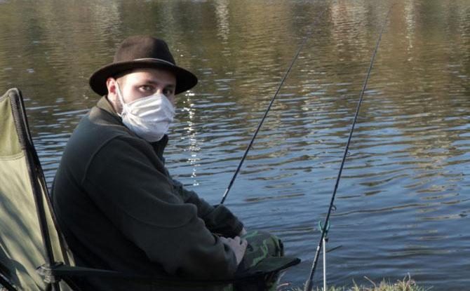 Rybaření v době opatření proti šíření koronaviru